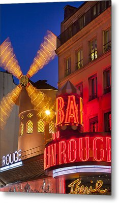 Moulin Rouge Metal Print by Brian Jannsen