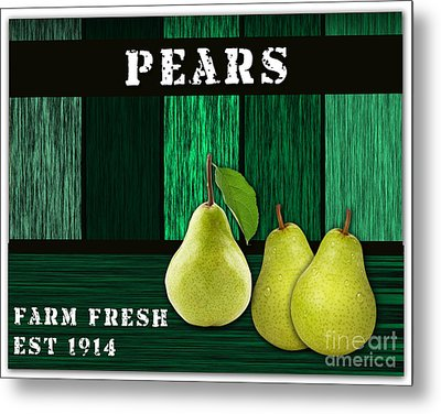 Pear Farm Metal Print by Marvin Blaine
