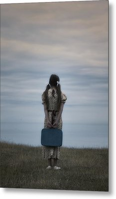 Refugee Girl Metal Print by Joana Kruse