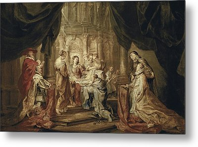 Rubens, Peter Paul 1577-1640. The Metal Print by Everett