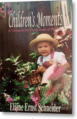 52 Children's Moments - Book Cover Metal Print by Eloise Schneider