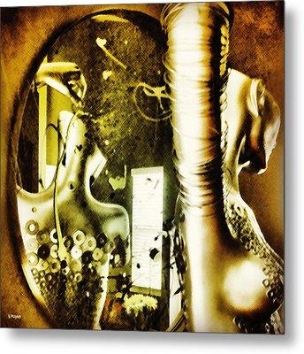 Untitled Metal Print by Barbara Ruano