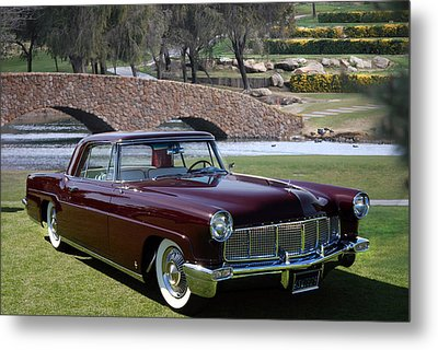 56 Continental Metal Print by Bill Dutting