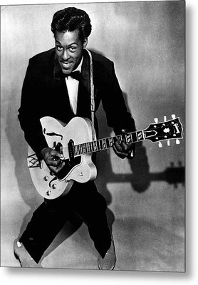 Chuck Berry Metal Print by Retro Images Archive