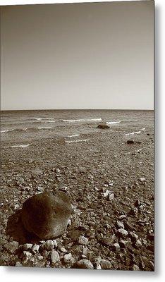 Lake Huron Metal Print by Frank Romeo