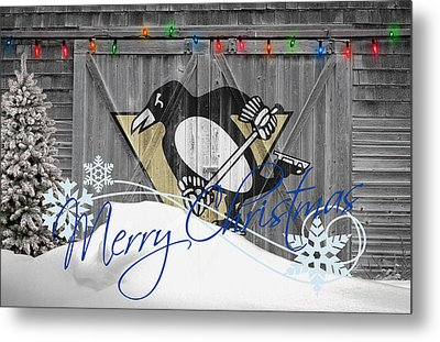 Pittsburgh Penguins Metal Print by Joe Hamilton