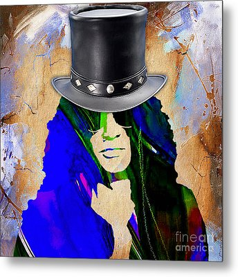 Slash Collection Metal Print by Marvin Blaine
