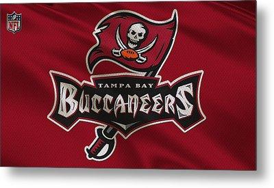 Tampa Bay Buccaneers Uniform Metal Print by Joe Hamilton