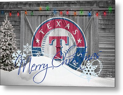 Texas Rangers Metal Print by Joe Hamilton