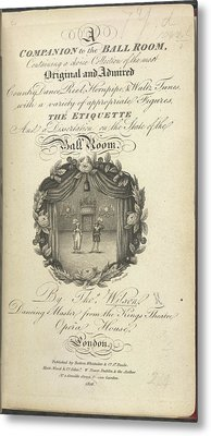 Title Page Metal Print by British Library