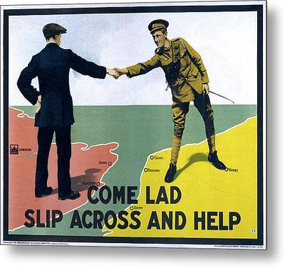 Wwi Poster, 1915 Metal Print by Granger