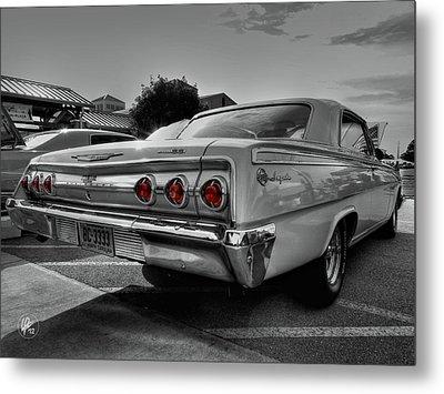'62 Impala Ss 001 Metal Print by Lance Vaughn