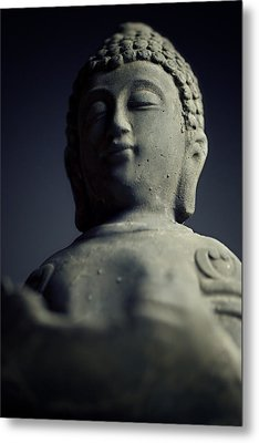 Buddha Metal Print by Falko Follert
