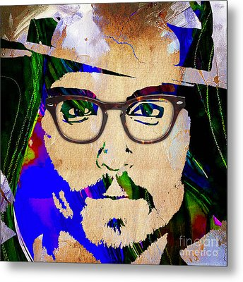 Johnny Depp Collection Metal Print by Marvin Blaine