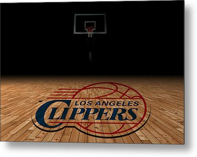 Los Angeles Clippers Metal Print by Joe Hamilton