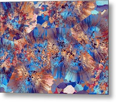 Ocean Jasper Metal Print by Bernardo Cesare