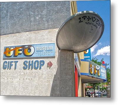 Roswell New Mexico Metal Print by Gregory Dyer
