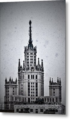 7 Towers Of Moscow Metal Print by Stelios Kleanthous