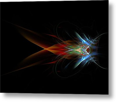 What Do You See Metal Print by Bruce Nutting