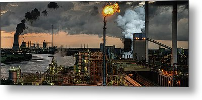 780a? A?? Industrial Pleasure Metal Print by Rainer Inderst