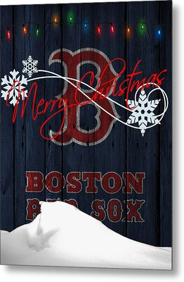 Boston Red Sox Metal Print by Joe Hamilton