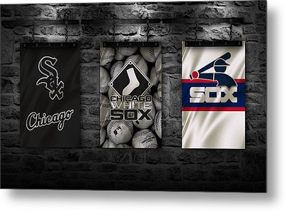 Chicago White Sox Metal Print by Joe Hamilton
