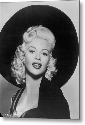 Jayne Mansfield Metal Print by Retro Images Archive