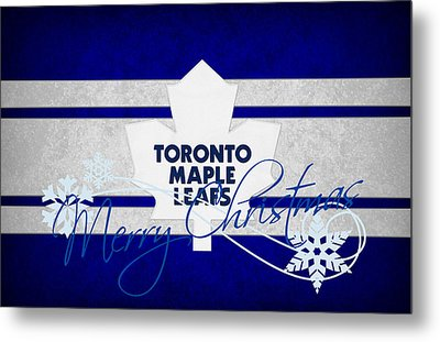 Toronto Maple Leafs Metal Print by Joe Hamilton
