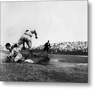 Tyrus R. Ty Cobb Metal Print by Retro Images Archive