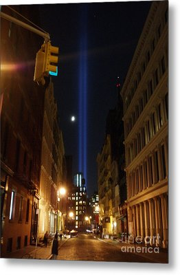 9-11-2013 Nyc Metal Print by Jean luc Comperat