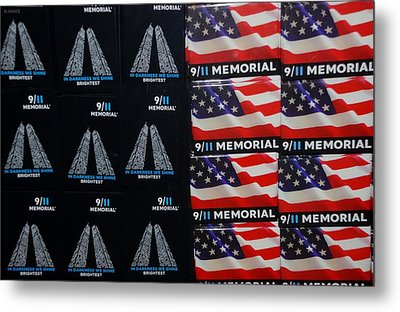 9/11 Memorial For Sale Metal Print by Rob Hans