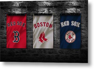 Boston Red Sox Metal Print by Joe Hamilton
