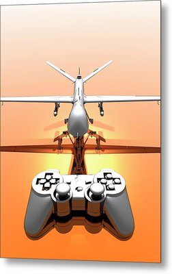 Drone Metal Print by Victor Habbick Visions