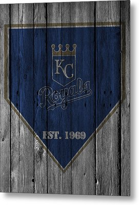 Kansas City Royals Metal Print by Joe Hamilton