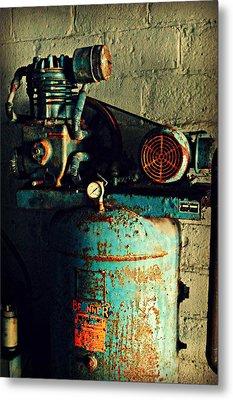 Working At The Car Wash Metal Print by Cyryn Fyrcyd