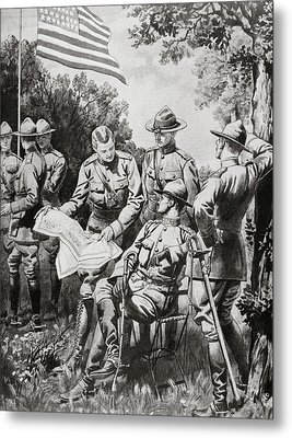 World War I (1914-1918 Metal Print by Prisma Archivo