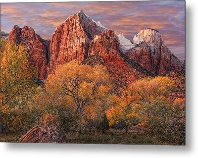 Zion National Park Metal Print by Utah Images