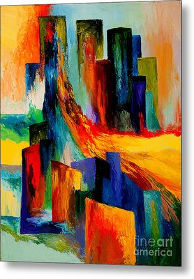 911 Revisited Metal Print by Larry Martin