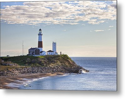 A Beacon On The Hill Metal Print by Mike Lang