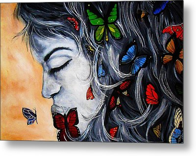 A Beautiful Daydream Metal Print by Michelle Pope