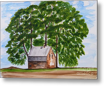 A Beautiful Place On Earth Metal Print by Christine Huwer