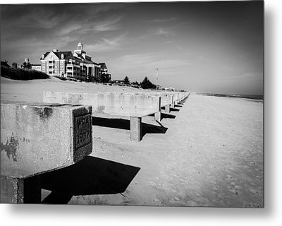 A Board To Walk No More Metal Print by Wayne Stacy