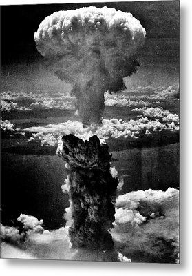 A-bomb Metal Print by Benjamin Yeager