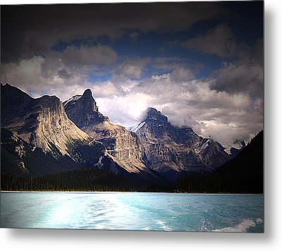 A Break In The Clouds Metal Print by Janet Ashworth