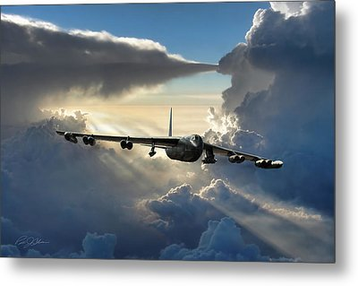 A Call To Arms Metal Print by Peter Chilelli