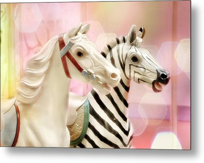 A Close Race Metal Print by Amy Tyler