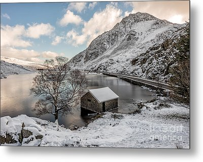 A Cold Start Metal Print by Adrian Evans