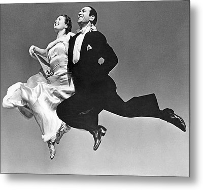 A Dance Team Does The Rhumba Metal Print by Underwood Archives