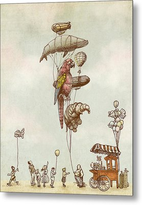 A Day At The Fair Metal Print by Eric Fan