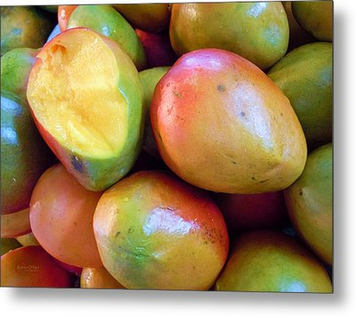 A Day At The Market #8 Metal Print by Robert ONeil